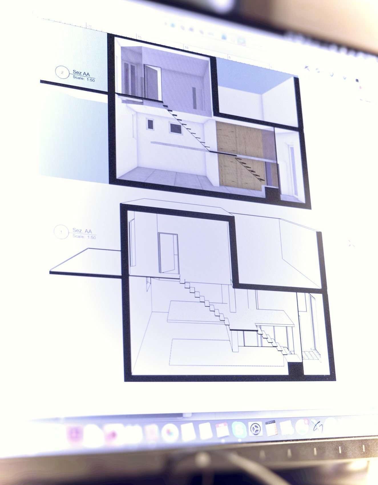 Progetto CAD 3D, dvdv architetti milano