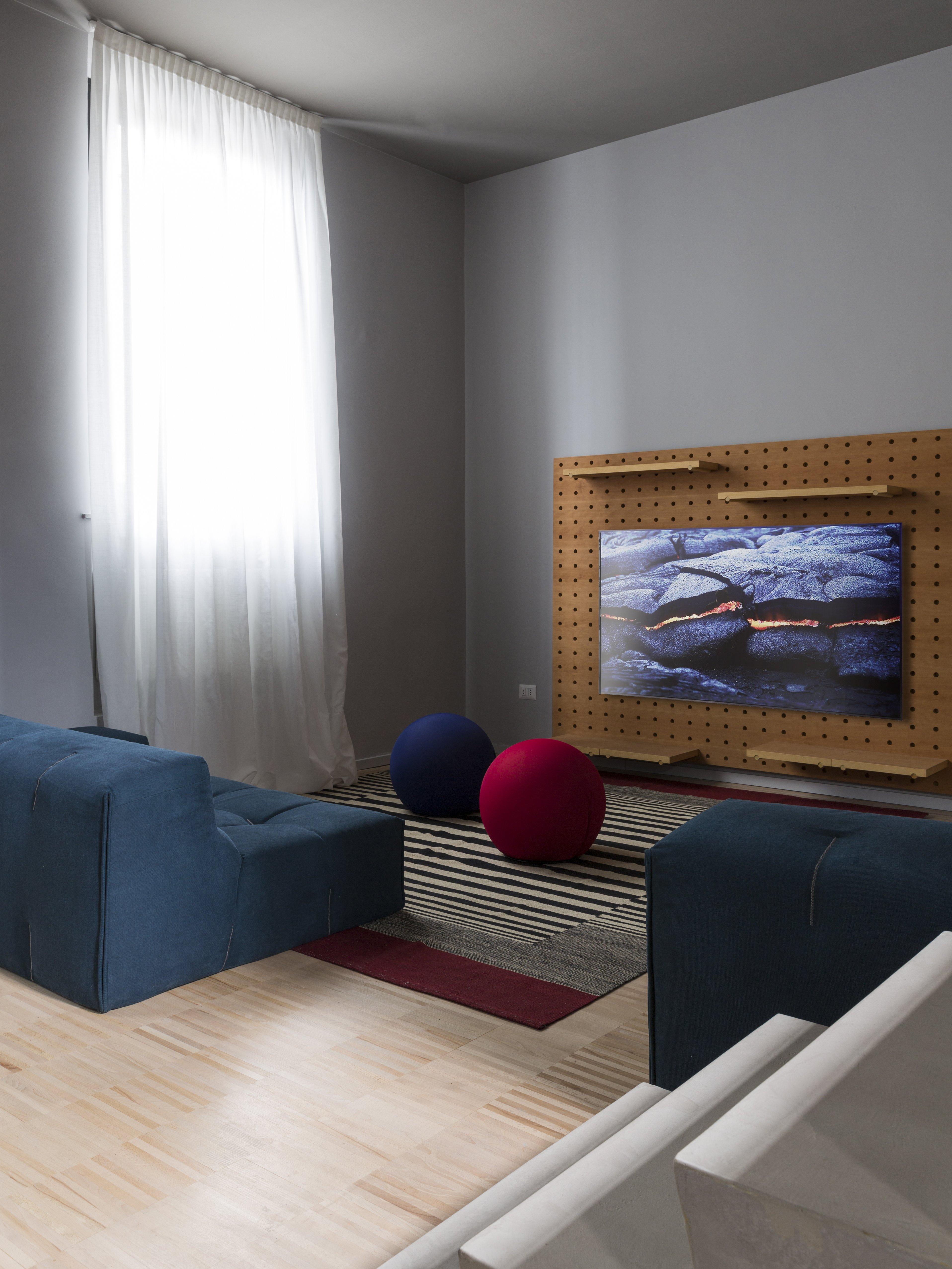 POI sistema modulare, pannello porta TV